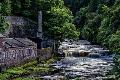 Photograph - Falls of Clyde by Sam Smith Photography