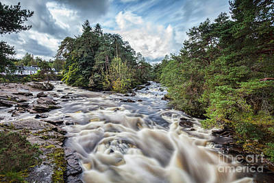 Photograph - Falls Of Dochart Scotland by Colin and Linda McKie