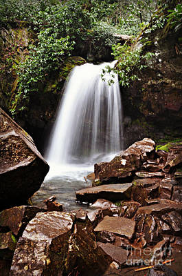 Photograph - Falls Of Tennessee by Eric Liller