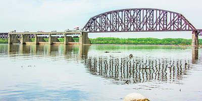Photograph - Falls Of The Ohio Bridge by Pamela Williams