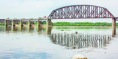 Photograph - Falls Of The Ohio Bridge by Pamela Williams