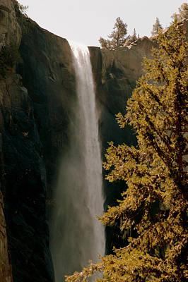 Sierra Photograph - Falls Of Yosemite 2 by LeeAnn McLaneGoetz McLaneGoetzStudioLLCcom