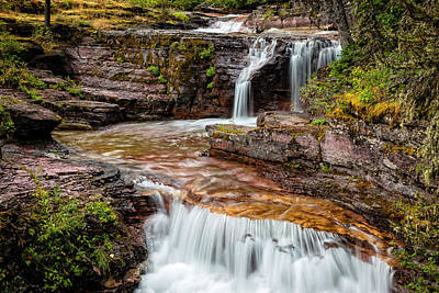 Photograph - Falls On Virginia Creek by Joe Miller