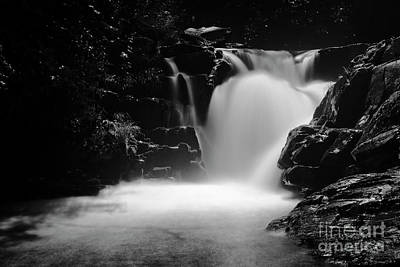 Photograph - Falls On Whiteoak by Patrick M Lynch