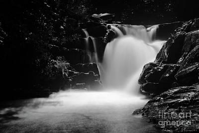 Photograph - Falls On Whiteoak by Patrick M Lynch