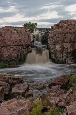Photograph - Falls Park 3  Sioux Falls South Dakota by Willie Harper
