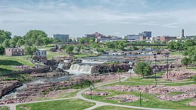 Photograph - Falls Park by Susan Rissi Tregoning