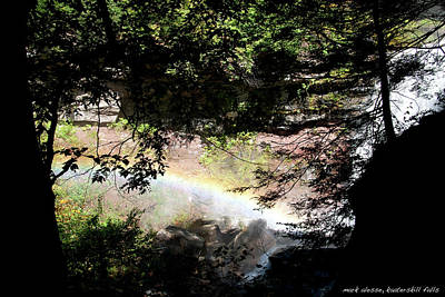 Photograph - Falls Rainbow by Mark Alesse