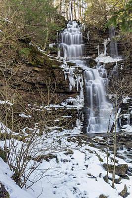 Photograph - Falls by Rhys Templar