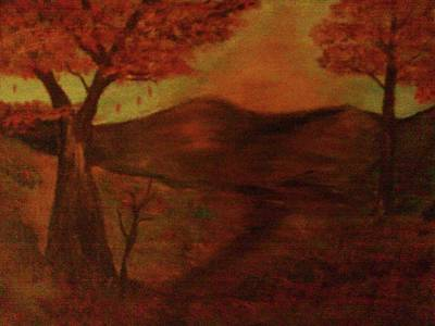 Painting - Falls Sunset by Helen Vanterpool