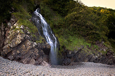 Photograph - Falls To Rocky Shores by Stewart Scott