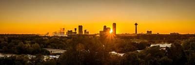 Photograph - Falls View Sunset by Chris Bordeleau