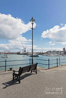 Photograph - Falmouth - A Nice Place To Sit by Terri Waters