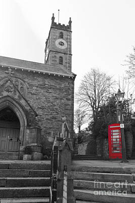 Photograph - Falmouth Church Isolations by Terri Waters
