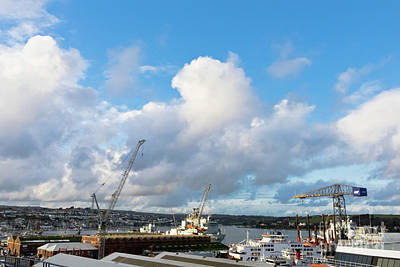 Photograph - Falmouth Docks Cornwall by Terri Waters