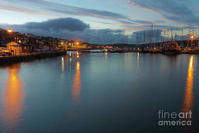Photograph - Falmouth Inner Harbour by Terri Waters