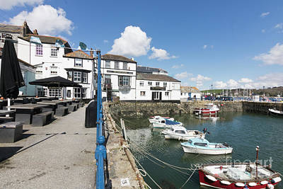 Photograph - Falmouth Inns by Terri Waters