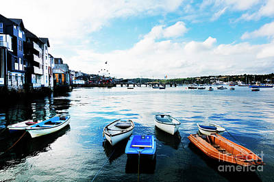 Falmouth To Flushing Print by Terri Waters