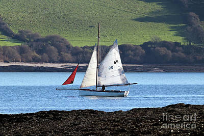 Photograph - Falmouth Working Boat by Terri Waters