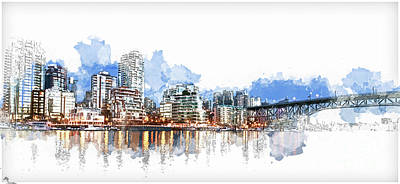 Photograph - False Creek by Cameron Wood