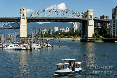 Photograph - False Creek Vancouver by John  Mitchell