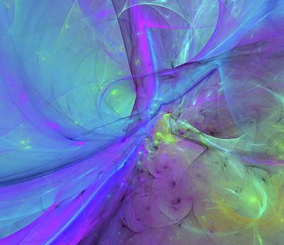Digital Art - False Dimension Of Heaven by Georgiana Romanovna