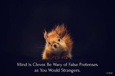 Photograph - False Pretenses Of Mind by Catherine Asoka Void