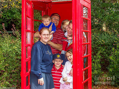 Photograph - Fam Booth by Shawn MacMeekin