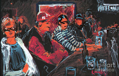 Painting - Family At Wise Guys by Candace Lovely