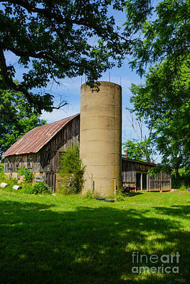 Photograph - Family Barn by Jennifer White
