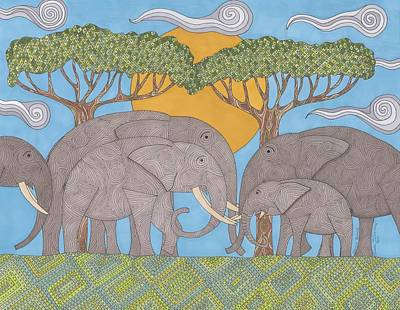 Family Bonds Art Print