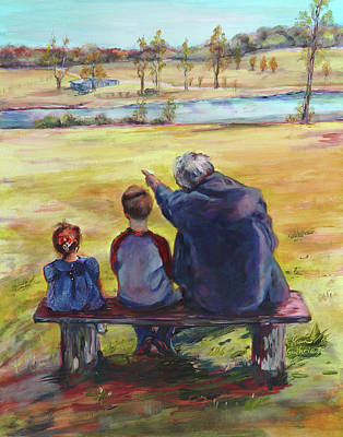 Family By Kim Guthrie Art Art Print