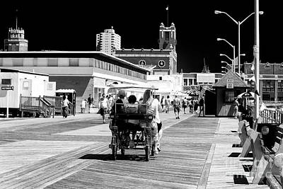 Photograph - Family Day At Asbury Park by John Rizzuto