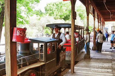 Photograph - Family Fun At Bonnie Springs Ranch, Las Vegas by Tatiana Travelways