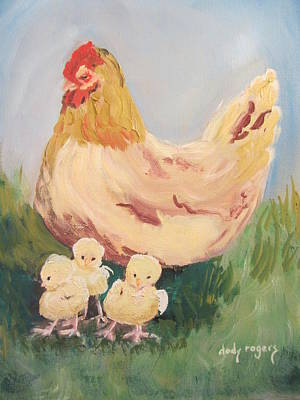 Painting - Family Gathering by Dody Rogers