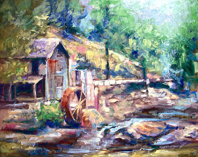 Painting - Family Heirloom by Melissa Herrin