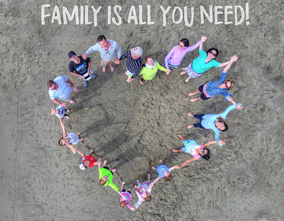 Photograph - Family Is All You Need by Andrew Nourse