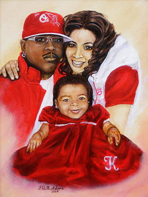 Painting - Family by James McAdams