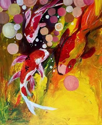 Painting - Family by Jun Jamosmos