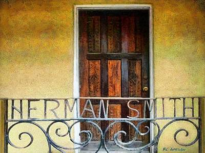 Painting - Family Names by RC DeWinter