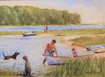 Family On Board Original by Beverly Klucher