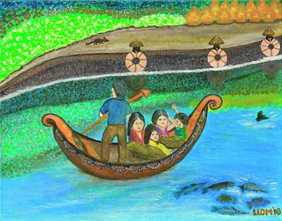 Painting - Family Outing by Lorna Maza