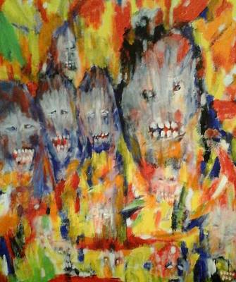 Painting - Family by Randall Ciotti