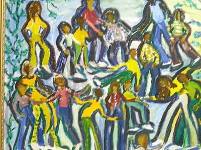 Family Reunion Art Print by BJ Abrams