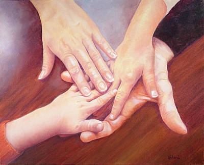 Painting - Family by Sheri Hoeger