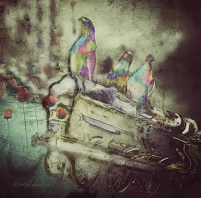 Digital Art - Family Vacation by Delight Worthyn