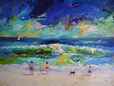 The Ocean Storm Art Print by Philip Jones