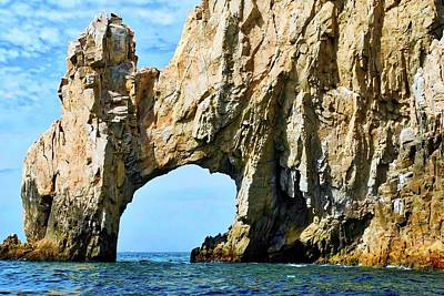 Famous Arch In Cabo San Lucas Art Print by Kirsten Giving