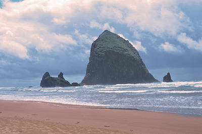 Photograph - Famous Haystack Rock Oregon by Kathy Kelly