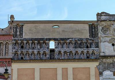 Photograph - Famous Historical Wall, Presov, Slovakia by Elenarts - Elena Duvernay photo